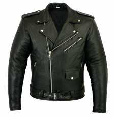 Leather Brando Motorbike Jacket Marlon Biker Motorcycle Perfecto Leather Jacket