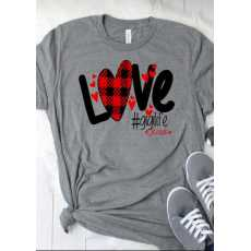 SUMMER COLLECTION blessed love print shirt for women soft trendy comfortable