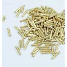 Edible Gold Rods sprinkles for cakes and desserts decoration product by...
