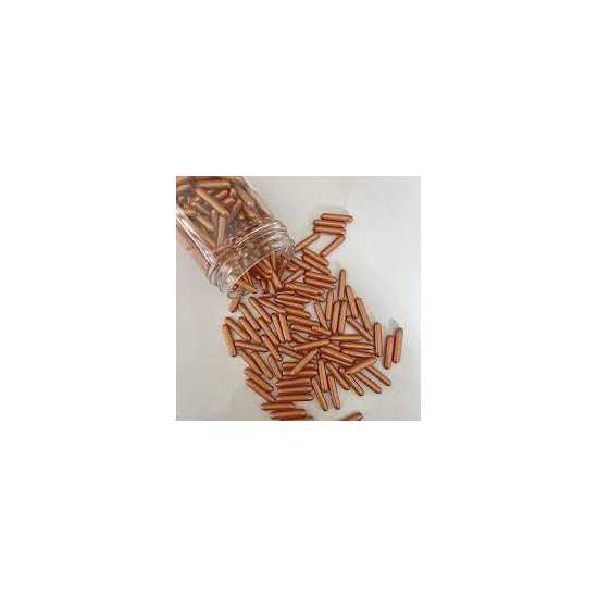 Edible Copper Rods sprinkles for cakes and desserts decoration product by...